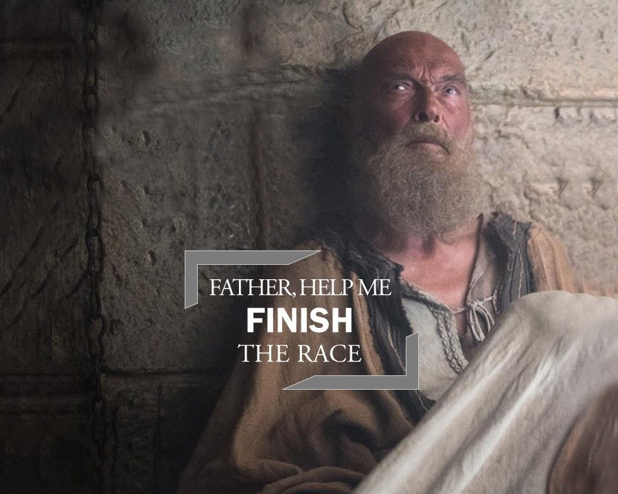 Father, Help Me Finish the Race!