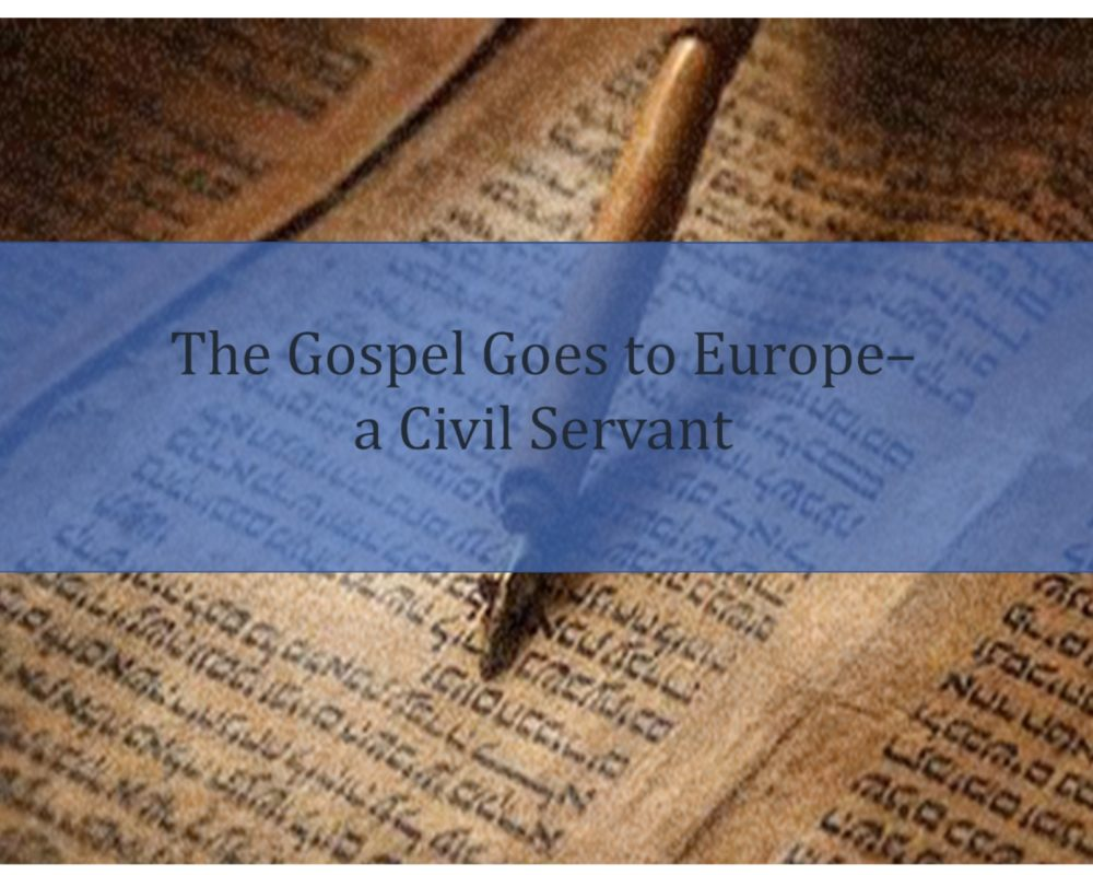 The Gospel Goes to Europe – the Philippian Jailer
