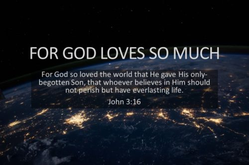 For God Loved So Much