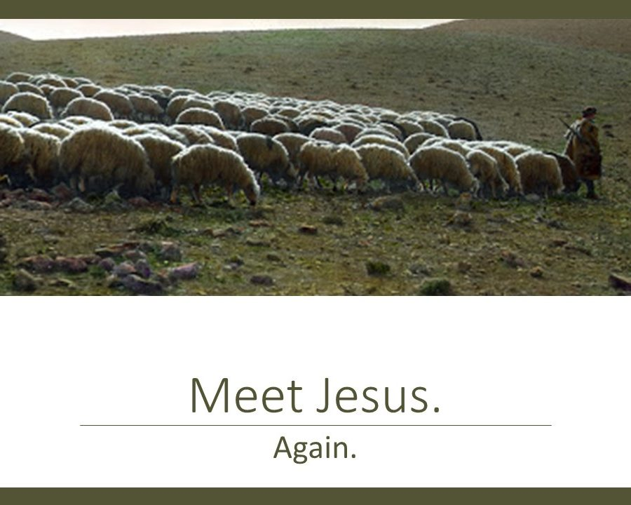 Meet Jesus, Again