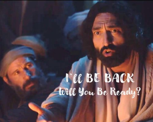 I'll Be Back, Will You Be Ready?